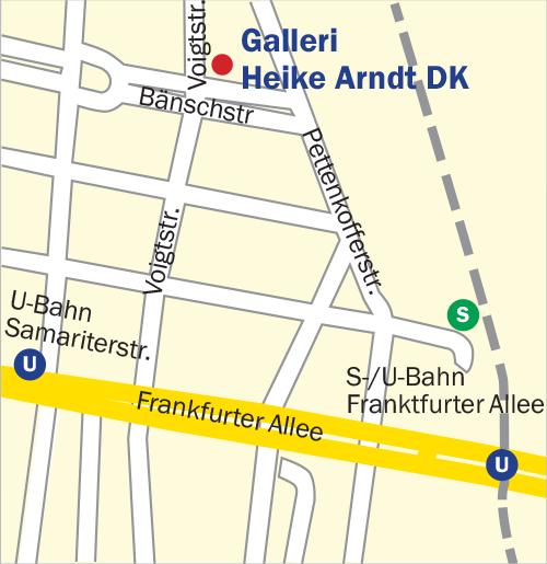 Galleri Heike Arndt DK Kort Berlin