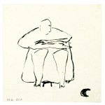 Inkdrawing,size 16,5 x 16,5cm,Place/Year:China/05-09