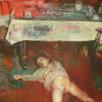 Heike Ruschmeyer - Abends 3v4 - 120 x 160 cm
