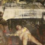 Heike Ruschmeyer - Nachts 4v4 - 120 x 160 cm