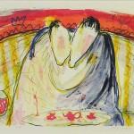 Reconciliation kiss