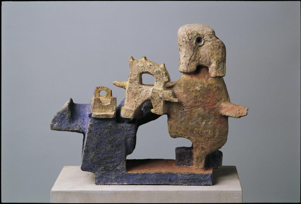 Walter Libuda. Der Ingenieur. 2006. Keramik. Höhe 40 cm