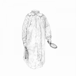 "Galleri Heike Arndt DK Berlin - Artist: Nanna Ylönen, title: ""Ghoul 2"", 30x40cm"