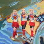 "Galleri Heike Arndt DK Berlin - Artist: Tea Popovic, Title: ""Kirana El Quirky"", 30x20cm"